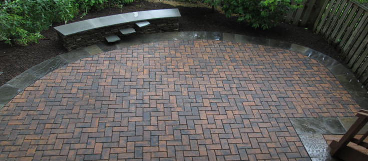 Permeable Pavers Are The Exact Same Material As Regular Pavers Designed For  Walkways, Patios, And Driveways. The Difference That Makes Them Permeable  Is The ...